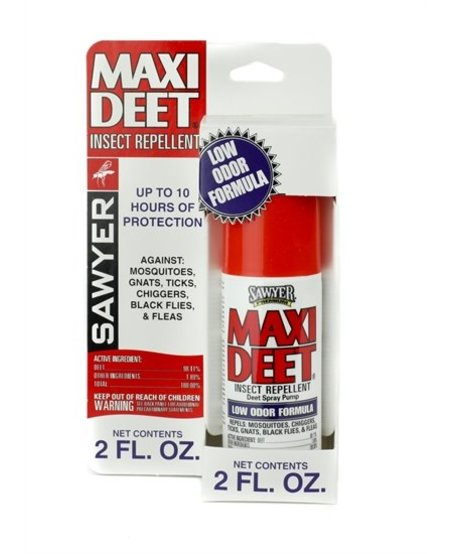 Sawyer Maxi Deet 100% 2oz Spray