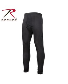 Rothco Gen III Level I Silkweight Bottoms Black