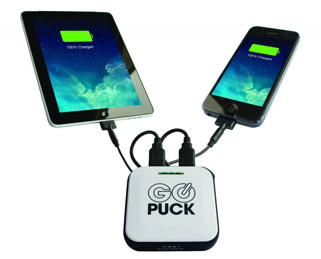 GO PUCK GO Puck 5X Wearable Charger - 6600mah