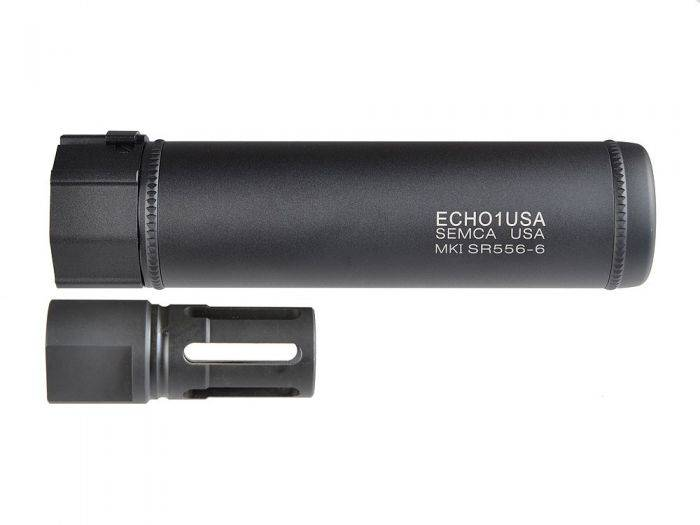 "Echo 1 Echo 1 MK1 SR556 7.5"" QD Barrel Extension w/ Flash Hider"