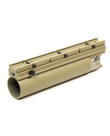 Madbull Airsoft XM203 Long BB Launcher in TAN