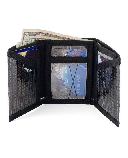 Flowfold Recycled Sailcloth Traveler Trifold
