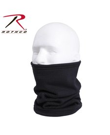 Rothco Grid Fleece Neck Gaiter Black