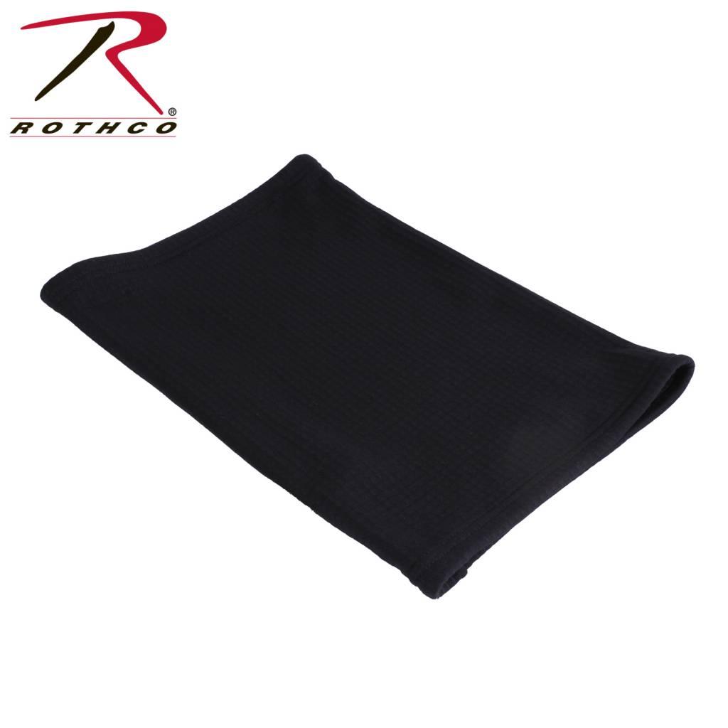 d8d7699314168 Rothco Grid Fleece Neck Gaiter Black - Ballahack Outdoor
