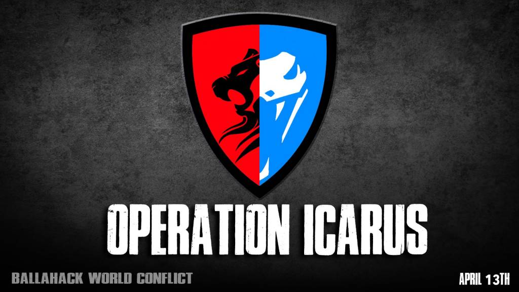 Ballahack Airsoft World Conflict Operation Icarus (April 13th)