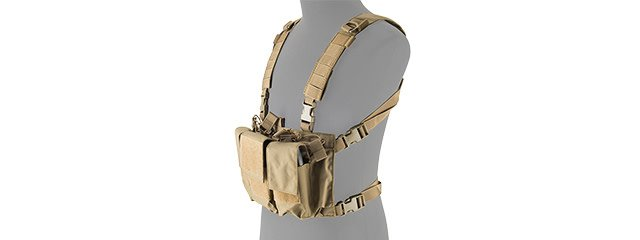 Lancer Tactical Lancer Tactical Adaptive Multi-purpose Slim Chest Rigs