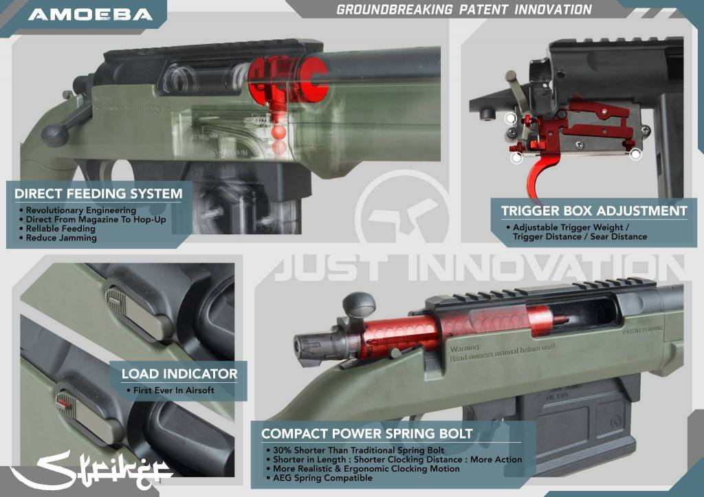 Ares ARES Amoeba Striker Sniper Rifle