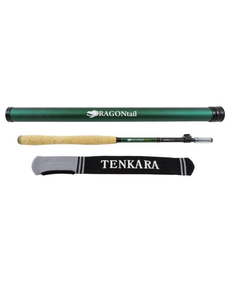 Dragontail Hydra zx390 Zoom Tenkara Rod w/ case