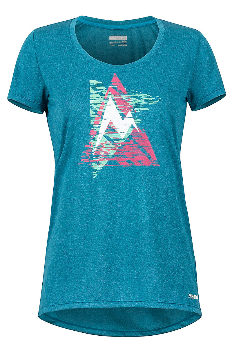 Marmot Marmot Womens Post Time Tee