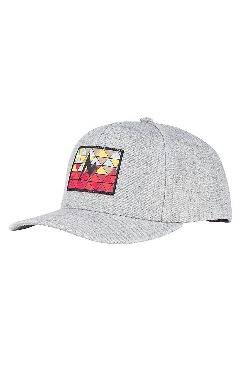 Marmot Marmot Poincenot Hat Grey Storm / Sienna Red
