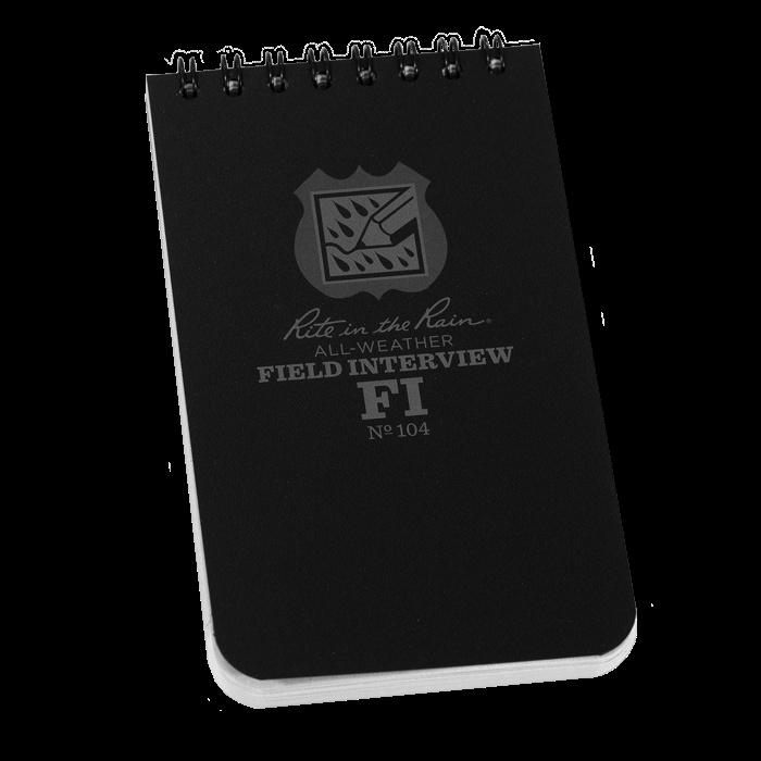 Rite in the Rain Rite in the Rain 3x5 Notebook Field Interview
