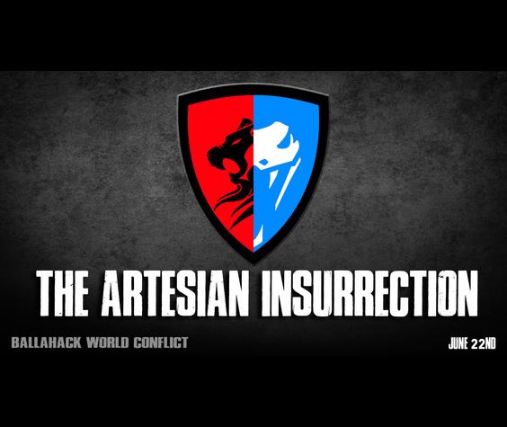 Ballahack Airsoft The Artesian Insurrection  (June 22nd)