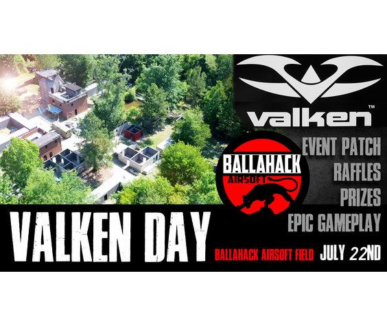 Ballahack Airsoft Valken Day at Ballahack Airsoft (July 27th)