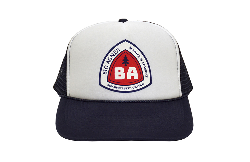 Big Agnes Big Agnes Trucker Hat - Blaze Blue