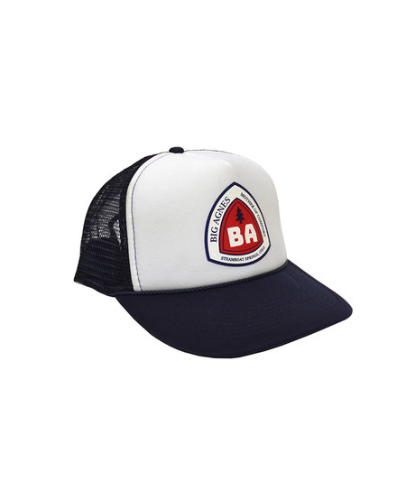 Big Agnes Trucker Hat - Blaze Blue