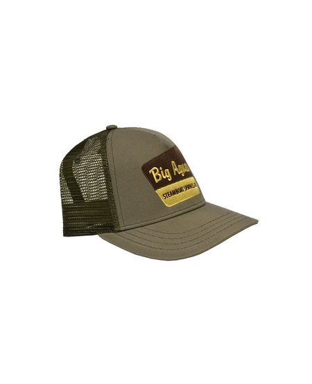 Big Agnes Signage Trucker Hat Surplus/Olive