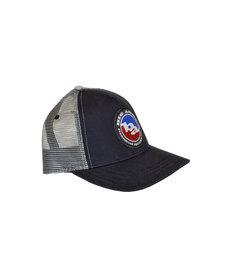 Big Agnes Classic Logo Trucker Hat Navy/ Steel
