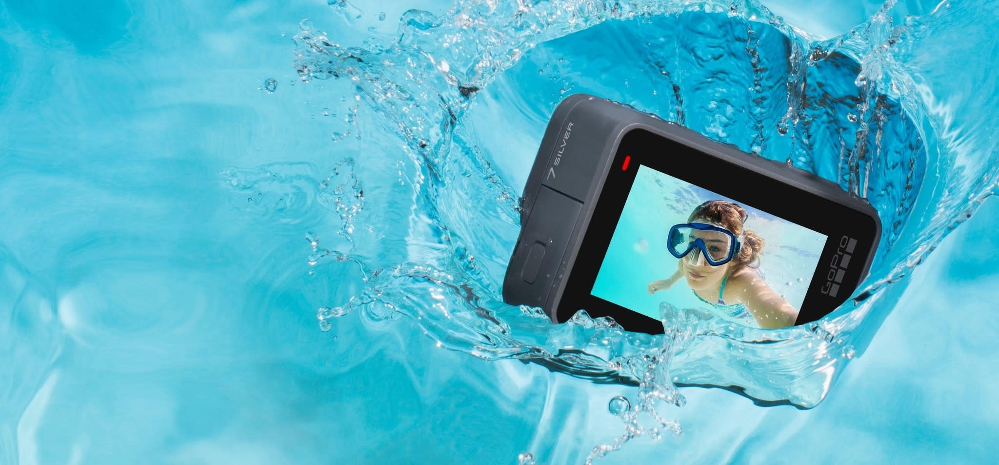 GoPro GoPro HERO7 Silver w/ SD Card