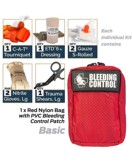 North American Rescue Individual Bleeding Control Kit - Nylon