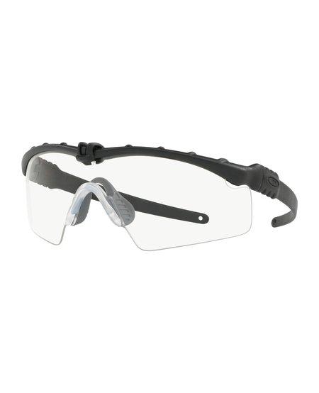 Oakley SI Balistic M Frame 3.0 Matte Black w/ Clear Lens