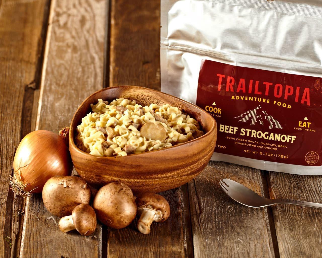 Trailtopia Trailtopia Beef Stroganoff