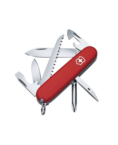 Swiss Army Victorinox Knife Hiker Red