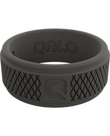 Qalo Mens Crosshatch Wedding Ring