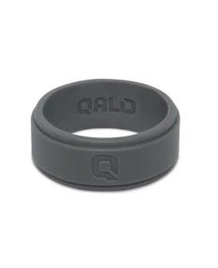 Qalo Mens Step Edge Ring