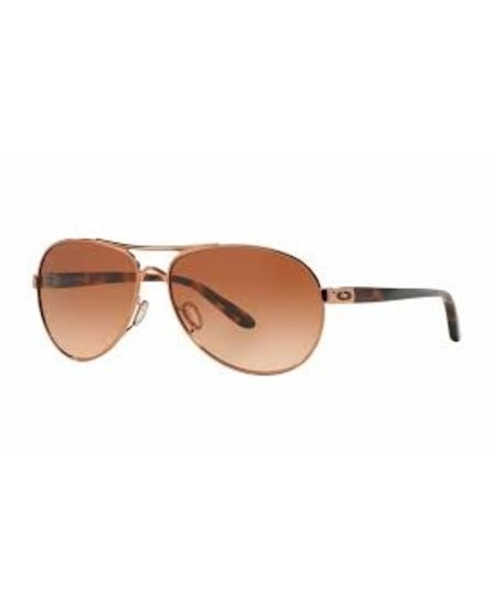 Oakley Feedback Rose Gold Frame w/VR50 Brown Gradient