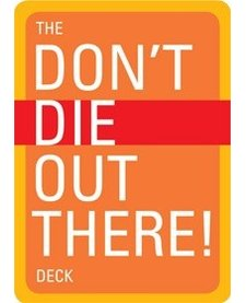 Don't Die Out There! Playing Card Deck