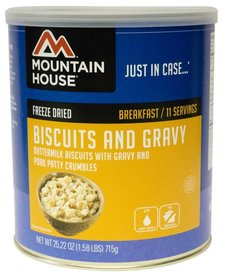 Mountain House Biscuts & Gravy Can