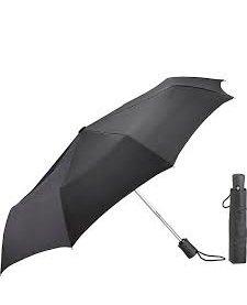 Lewis N. Clark Compact Umbrella Black