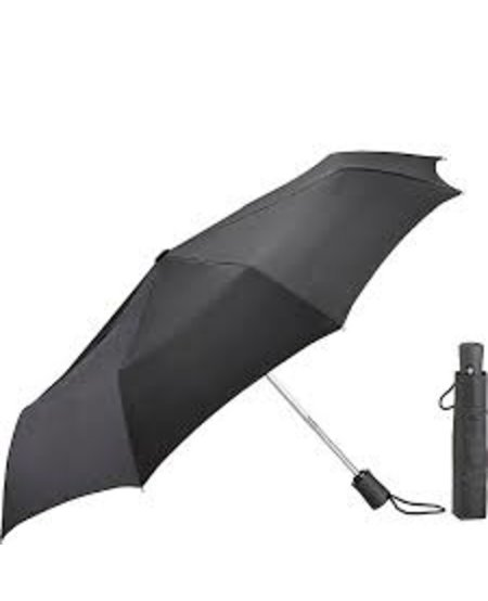 Lewis N. Clark Compact Umbrella Black