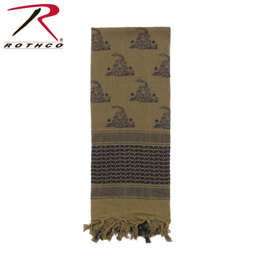 Rothco Rothco Gadsden Snake Shemagh Tactical Desert Scarf