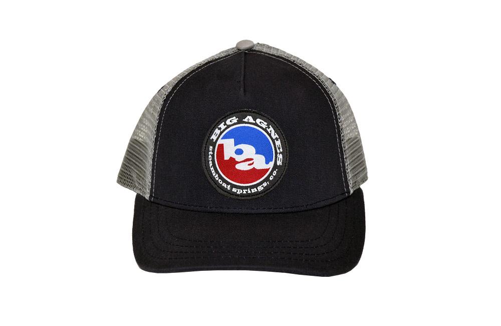 Big Agnes Big Agnes Classic Logo Trucker Hat Navy/ Steel