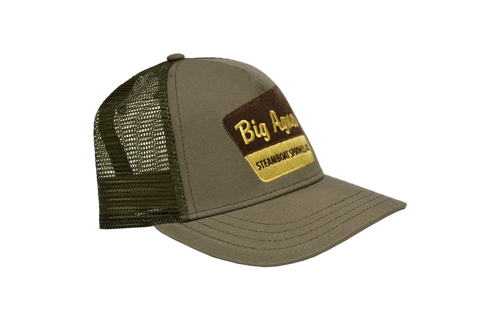 Big Agnes Big Agnes Signage Trucker Hat Surplus/Olive