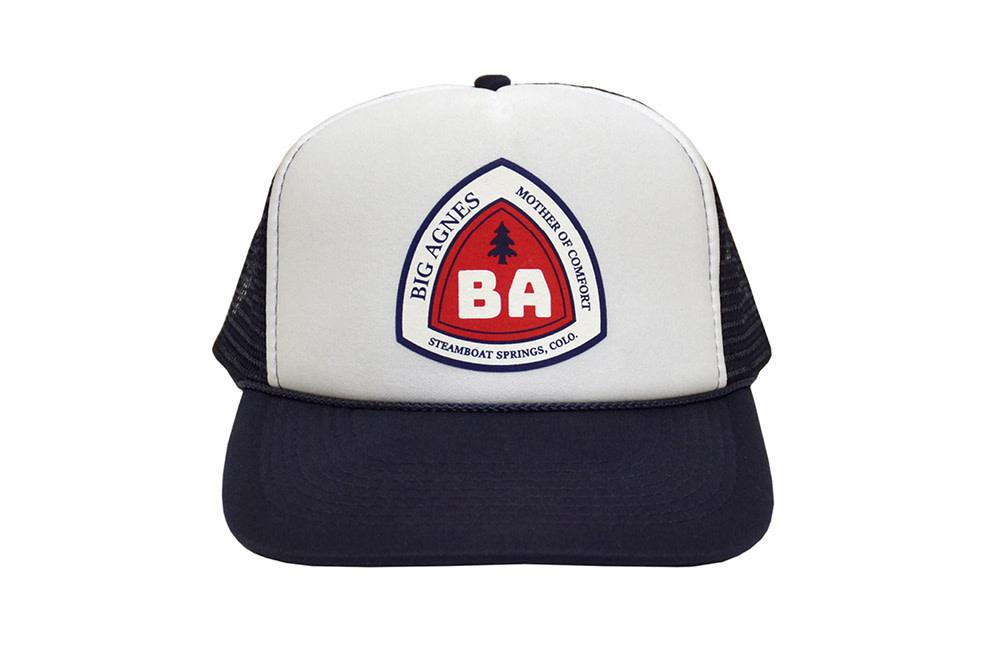 Big Agnes Big Agnes Trucker Hat - Blaze Blue