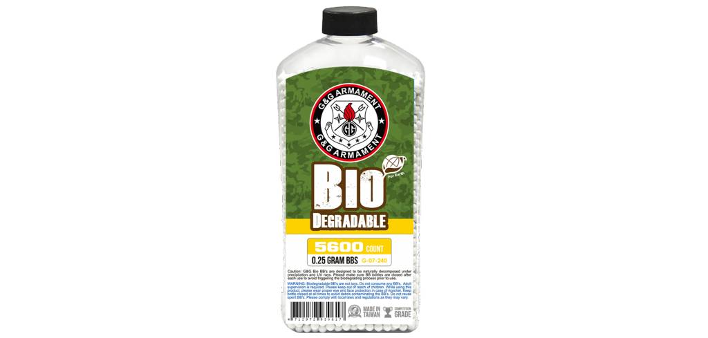 G&G G&G 5600 .25g Bio BB