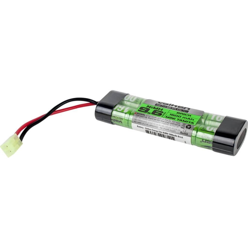 Valken Valken 9.6v 1600 mAh Brick Styled Battery