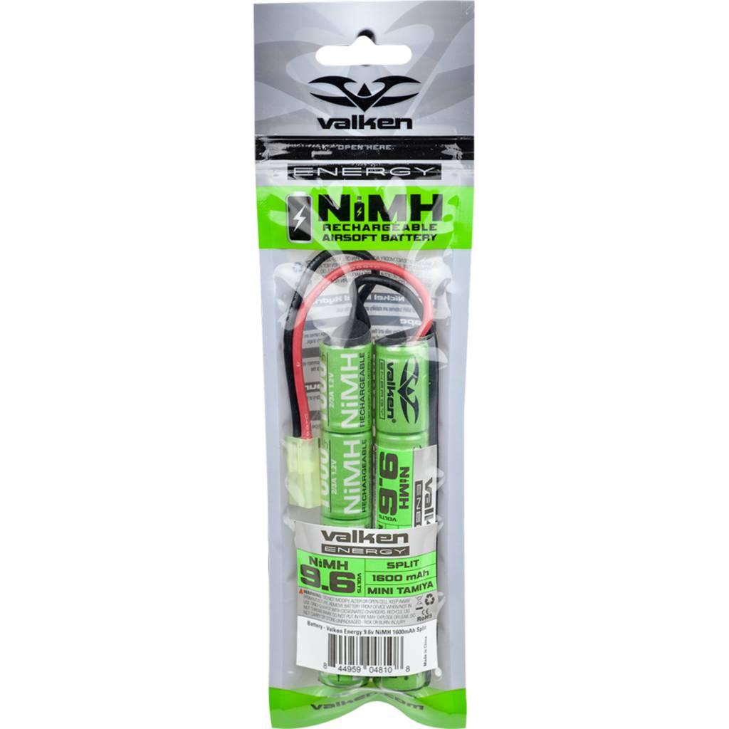 Valken Valken 9.6v 1600 mAh Nunchuck Styled Battery