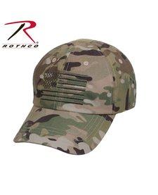 Rothco Operator Cap Multicam w/Flag