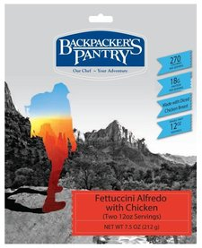 Backpacker's Pantry Fettuccini Alfredo & Chicken