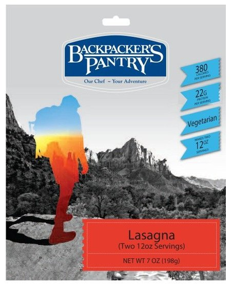 Backpackers Pantry Lasagna 4 Serving
