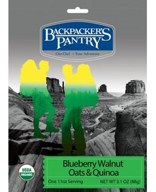 Backpacker's Pantry Organic Blueberry Walnut Oatmeal