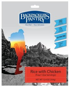 Backpacker's Pantry Rice w/ Chicken