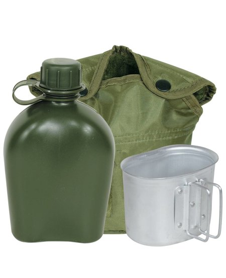 Mil-Spec Canteen Cup and Cover Set