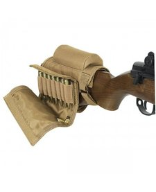 Voodoo Tactical Buttstock Cheek Piece w/ Ammo Carrier