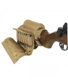 Voodoo Tactical Buttstock Cheek Piece w/ Ammo Carrier