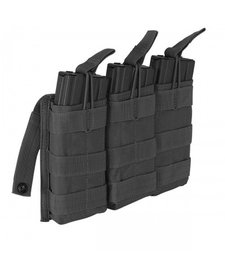 Voodoo Tactical M4/M16 Triple Mag Pouch Open Top