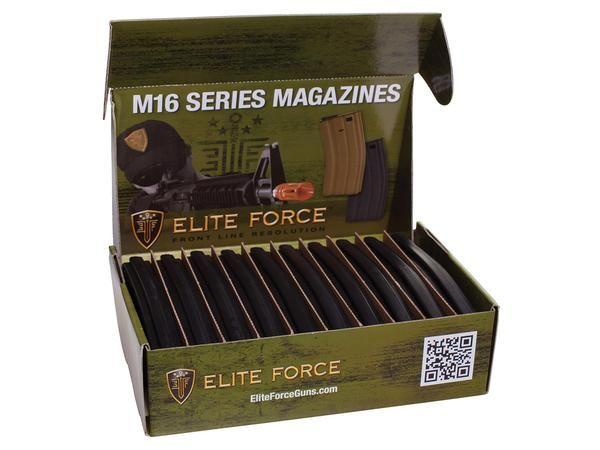 Elite Force Elite Force M4/M16 140RD Mid Caps 10PK